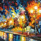 ETERNITY - Original oil painting on canvas by Leonid Afremov by Leonid  Afremov