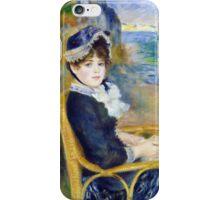 Pierre-Auguste Renoir - By the Seashore iPhone Case/Skin