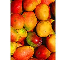 Mango - queen of the tropical fruits Photographic Print