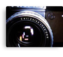 Zeiss Lens Canvas Print