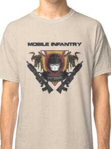Veteran's Badge- Starship Troopers Classic T-Shirt