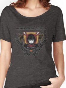 Veteran's Badge- Starship Troopers Women's Relaxed Fit T-Shirt