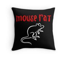 Mouse Rat Throw Pillow