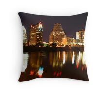 By the Light of Night Throw Pillow