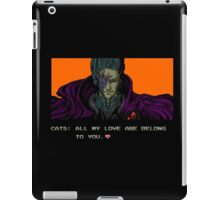 FOR GREAT JUSTICE. iPad Case/Skin