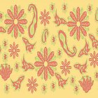 Flower Print by JanDeA