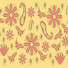 Flower Print by JanDeA