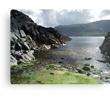 Jetty near Malin Beg Metal Print