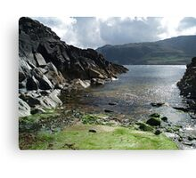 Jetty near Malin Beg Canvas Print
