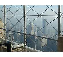 View of Manhattan, New York from the Empire State Building Photographic Print