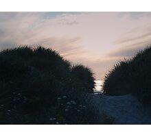 Dunes at Sunset Photographic Print