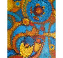 Cellular Nebula's Photographic Print