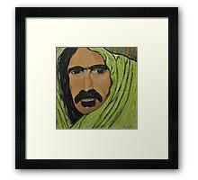 Frank Zappa ??????? Framed Print
