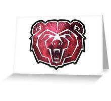 Missouri State Bears Greeting Card