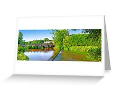 Tilford - The River Wey Greeting Card
