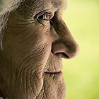 Refugee. Portrait of an Elderly Lady by daskar
