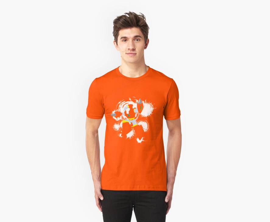 Crash Man Splattery T by thedailyrobot