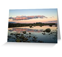 Dusk At Valdresflya  Greeting Card