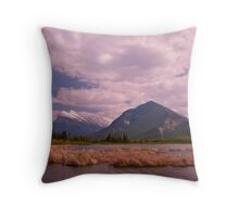 Lower Vermillion Lake, Banff Throw Pillow