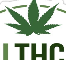 Healthcare - THC Marijuana/Cannabis Sticker