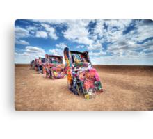 The Cadillac Ranch - Amarillo Texas Canvas Print