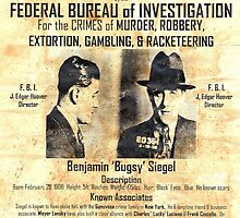 Bugsey Siegel Wanted by lawrencebaird