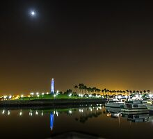Rainbow Harbor Long Beach by barkeypf