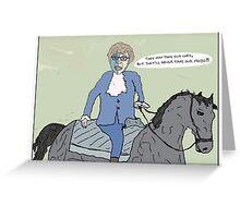 Braveheart + Austin Powers Greeting Card