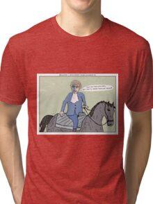 Braveheart + Austin Powers Tri-blend T-Shirt