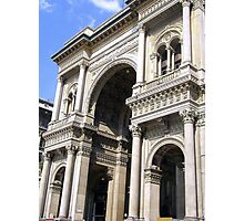 The Galleria Vittorio Emanuele II - Milan Photographic Print