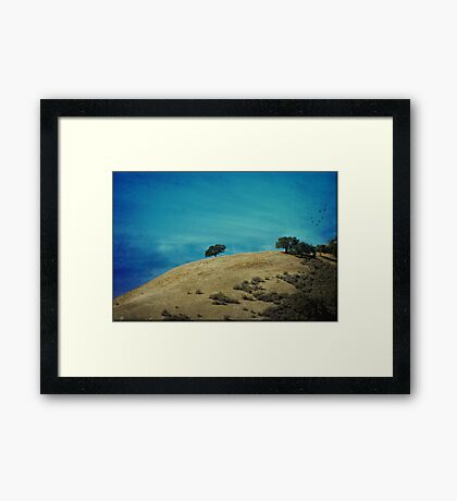 Gentle Hills Framed Print