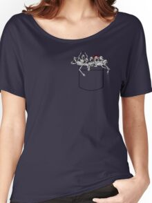 Pocket messengers from Bloodborne  Women's Relaxed Fit T-Shirt