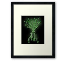 CircuiTree Framed Print