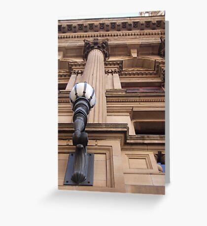 Melbourne Town Hall - Victoria, Australia Greeting Card