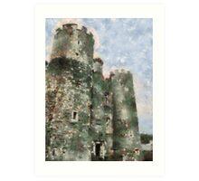 Enniscorthy castle, Wexford, Ireland Art Print