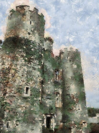 Enniscorthy castle, Wexford, Ireland by buttonpresser