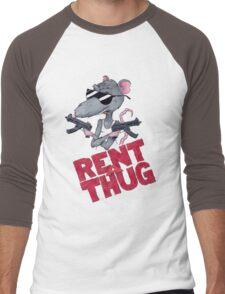 Rent-A-Thug, Inc. Men's Baseball ¾ T-Shirt