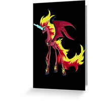 My Little Pony - MLP - Nightmare Sunset Shimmer Greeting Card