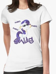 Pony Swag mk2 Womens Fitted T-Shirt