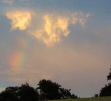 RAINBOW SPILLING OUT OF A CLOUD Sticker