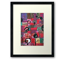 Repeat by Margo Humphries Framed Print
