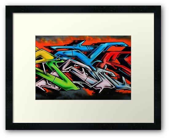 Big City Freaks Graffiti  - part 2 by Maria  Moro