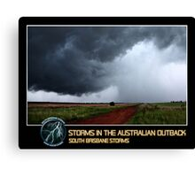 Branded: Outback Thunderstorms Canvas Print