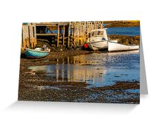 Blue Rocks, Nova Scotia Greeting Card