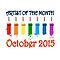 Artist of the month - OCTOBER 2015