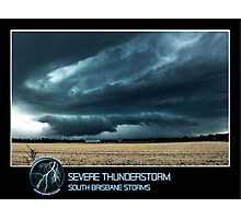 Branded: Severe Thunderstorm Photographic Print