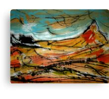 spike mountain..... an isolated view Canvas Print