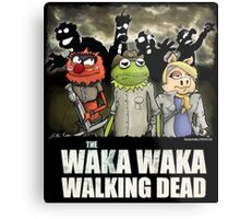 The Waka Waka Walking Dead Metal Print