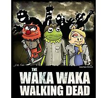 The Waka Waka Walking Dead Photographic Print