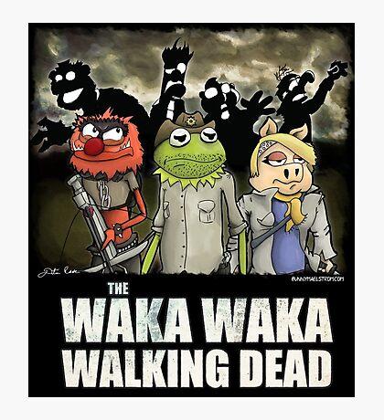 The Waka Waka Walking Dead Photographic Print